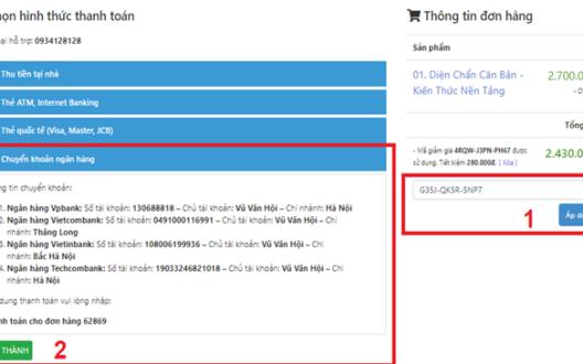 Tặng học phí khi đăng ký học từ xa qua dienchanviet.net